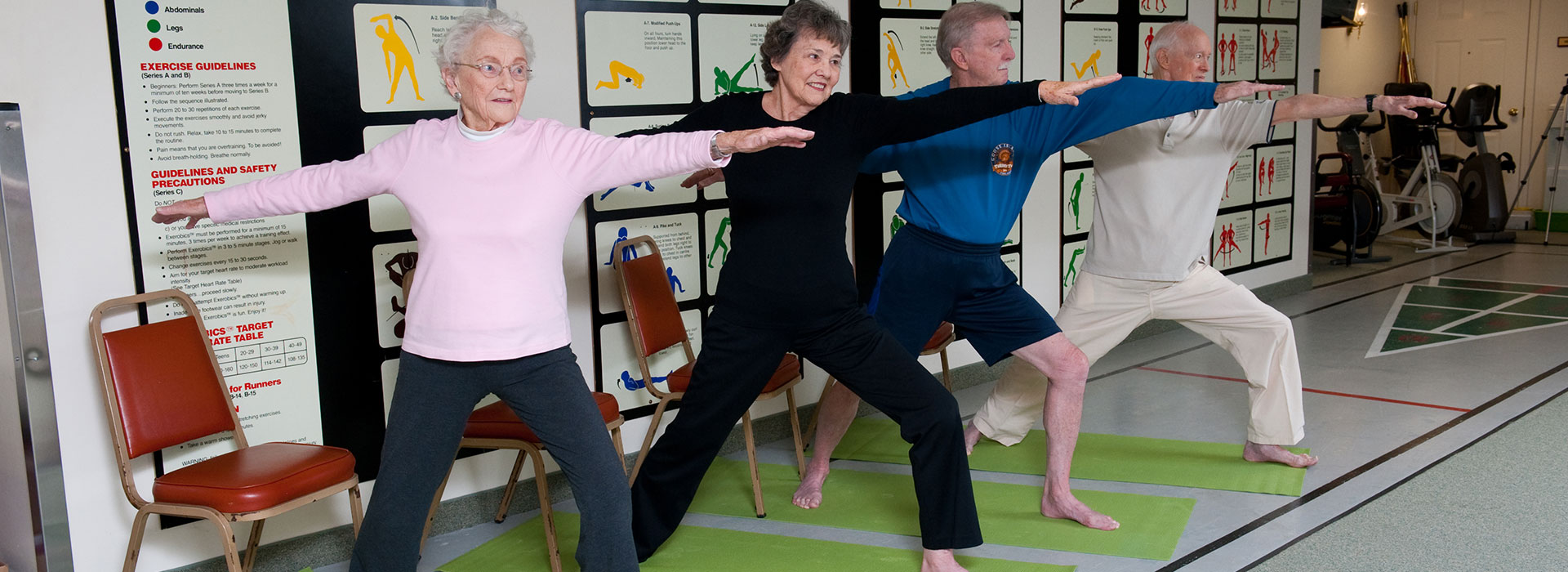 Thirwood Place fitness class