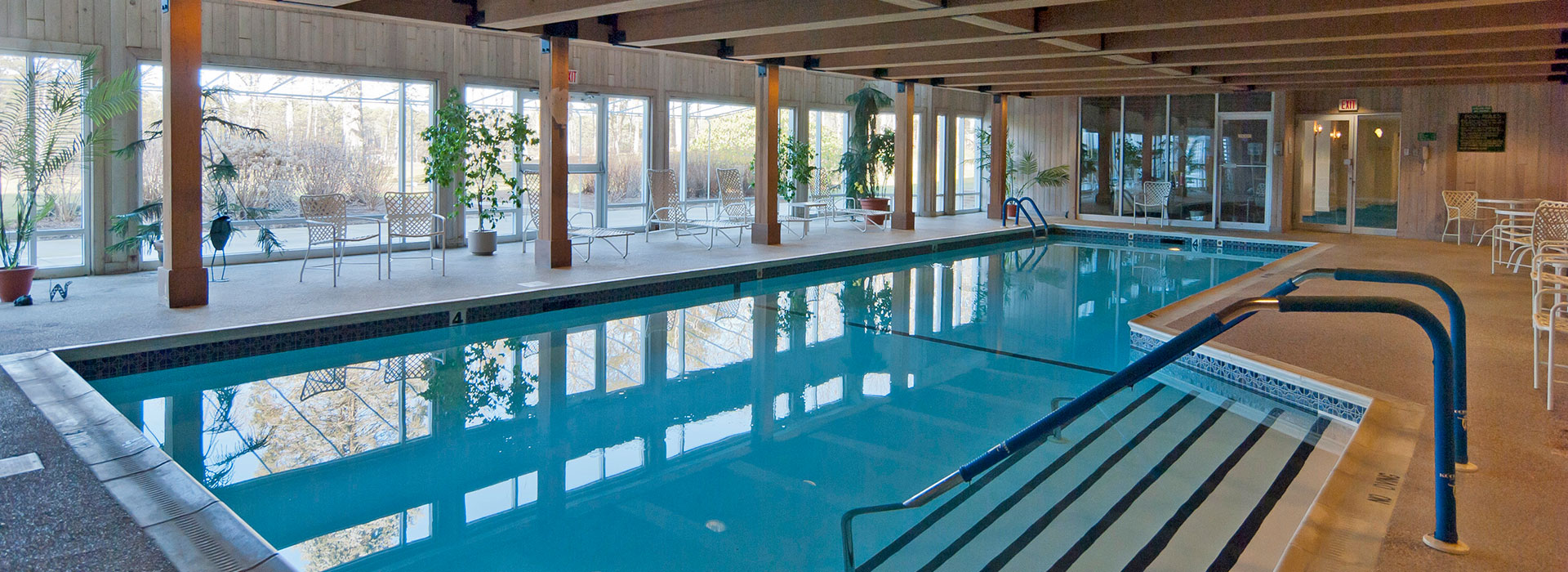 Thirwood Place indoor heated pool