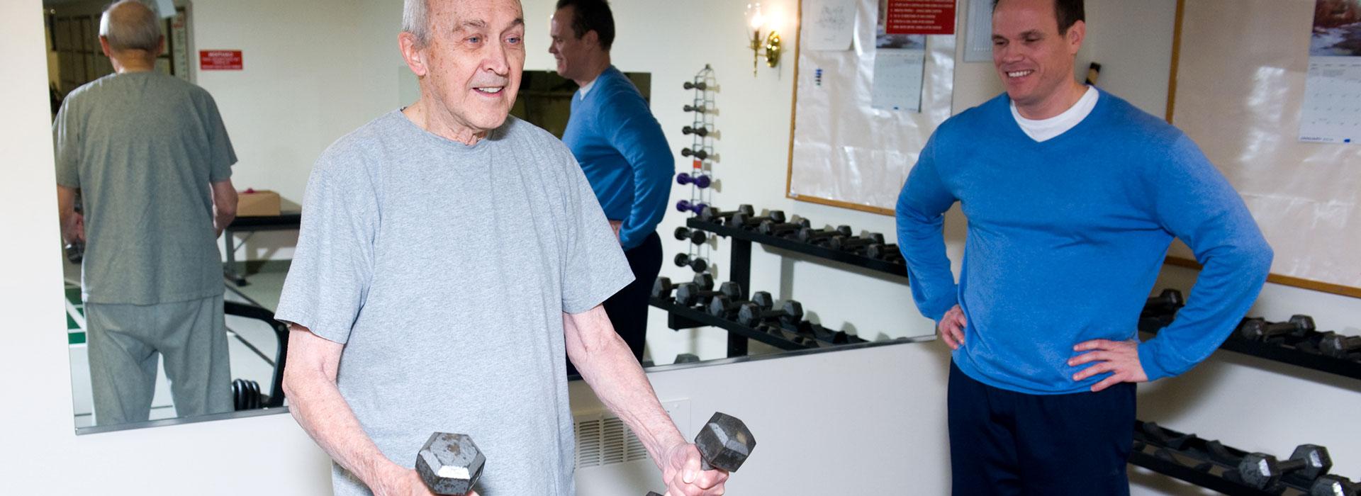 Thirwood Place fitness room