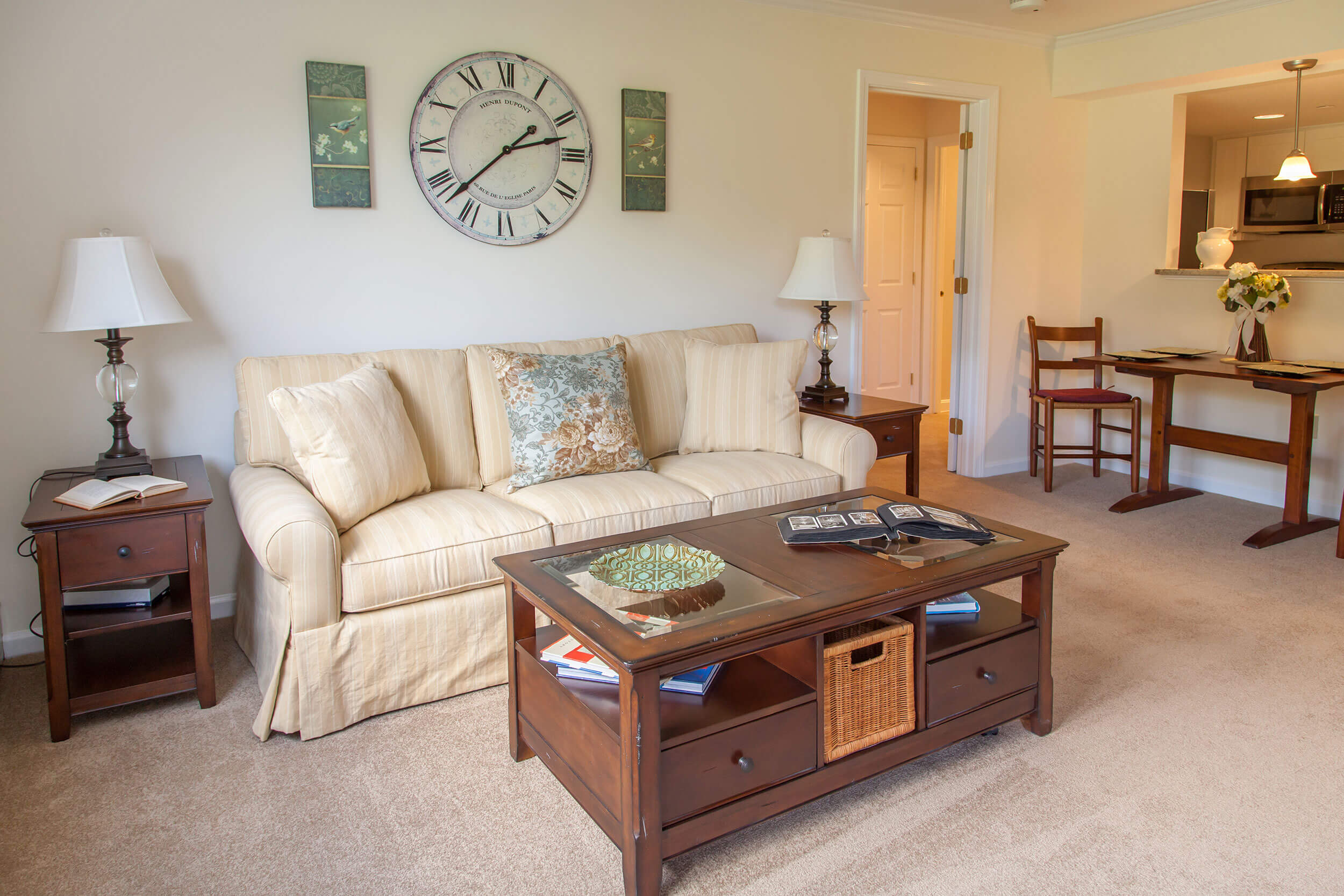 Thirwood model living room