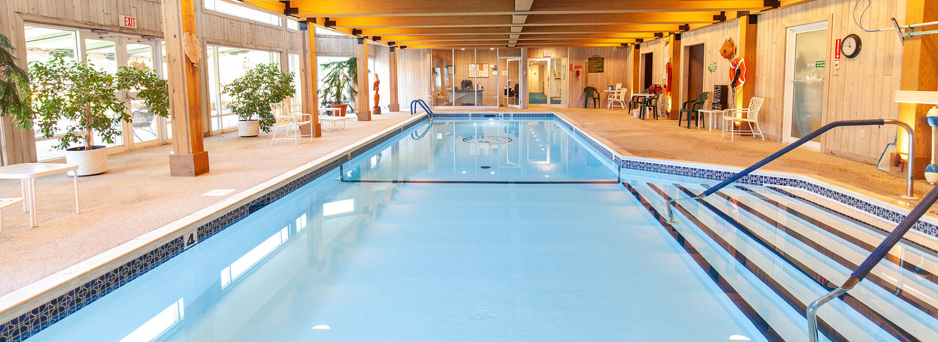 view of thirwood's indoor pool